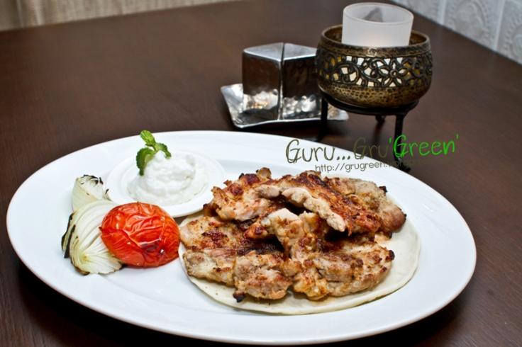 รีวิว_เมนู_Labanese_Style_Grilled_Chicken_ไก่ย่างสไตล์เลบานิส_ที่ร้าน_AL_SARAY