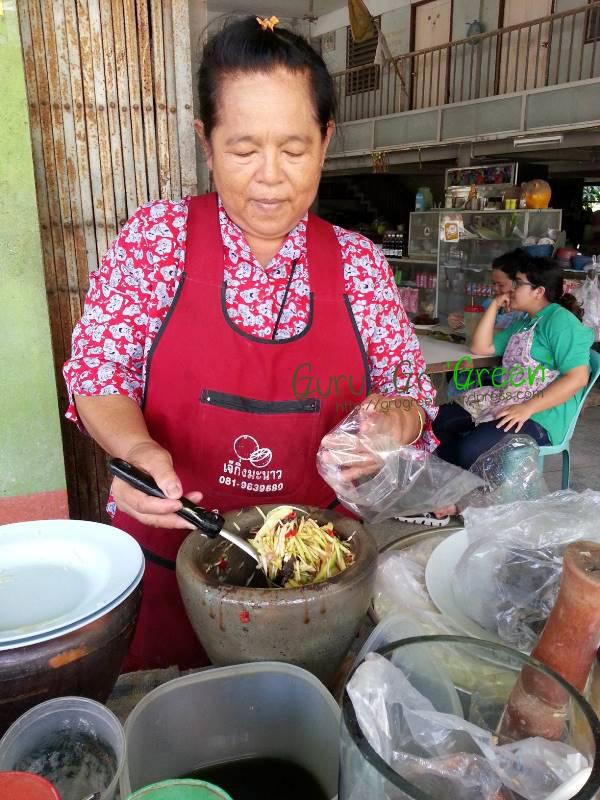 รีวิวร้านอร่อย ยำปูม้า หน้าวัดแสนสุข บางแสน ชลบุรี
